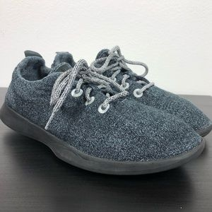Allbirds  Men's Gray Wool Runner Sneakers -11
